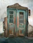 Blue Door, 24x17, o/c