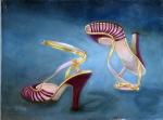 Dancing Shoes, 12 x 16, a/c
